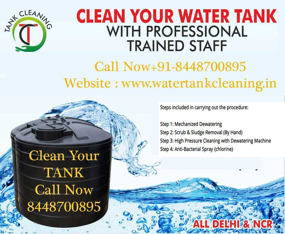 JP Water Tank Cleaning in Delhi, Gurgaon